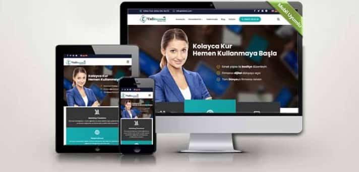 Şirket internet sitesi kurma